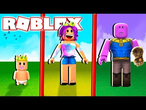 BECOME THANOS IN ROBLOX!