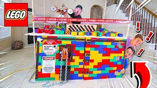 Video 2 NOOBS TRY TO BREAK INTO WORLDS SAFEST LEGO HOUSE! MP3, 3GP, MP4, WEBM, AVI, FLV Agustus 2019