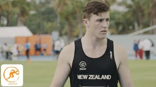 Coached by renowned Olympic and Commonwealth Medallist Valerie Adams, we spent the day with New Zealand discus athlete Connor Bell as he sets his sights on Gold.