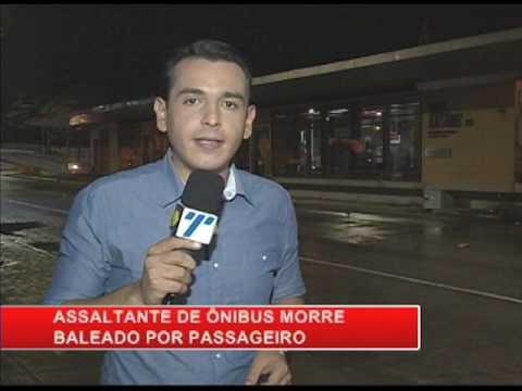 [RONDA GERAL] Assaltante de ônibus morre baleado por passageiro
