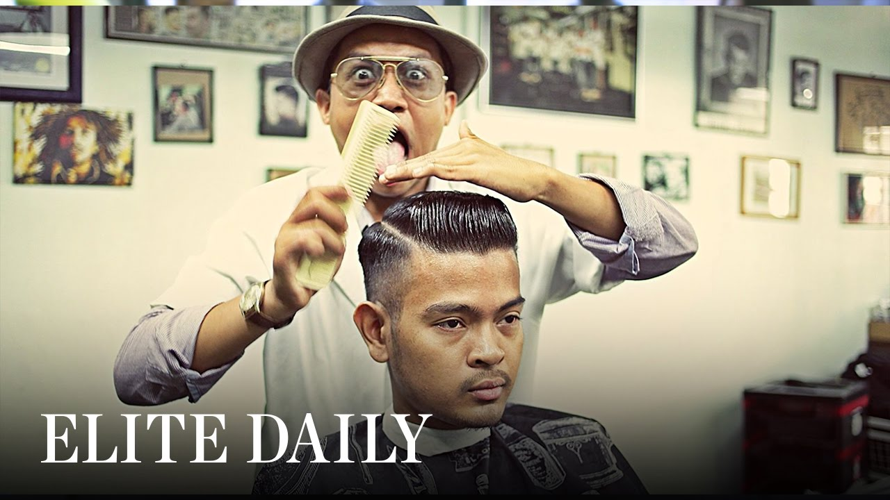 Barber Giving Awesome Vintage Haircuts Will Inspire You To Follow Your Dreams