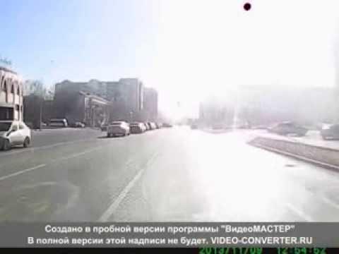 ДТП Авария Казахстан Астана 09 11 2013