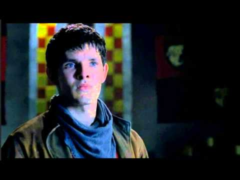 Merlin reveals his magic to Uther