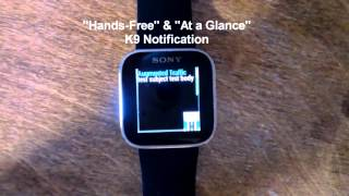 Augmented SmartWatch Notify YouTube video