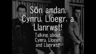 Llanrwst United Kingdom  city pictures gallery : Cymru, Lloegr, a Llanrwst - Y Cyrff (geiriau / lyrics)