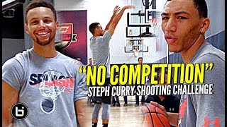 Video The Steph Curry Shooting Challenge! Steph DESTROYS TOP HS Guards at #SC30Select Camp! MP3, 3GP, MP4, WEBM, AVI, FLV Mei 2019