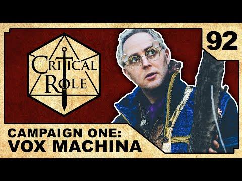 Deals in the Dark   Critical Role RPG Episode 92