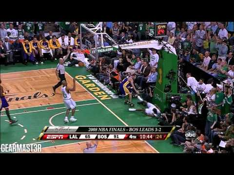 2008 NBA Finals - Los Angeles vs Boston - Game 6 Best Plays