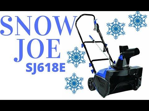 , title : 'SnowJoe Electric Snowblower SJ618E Review Snow Thrower'