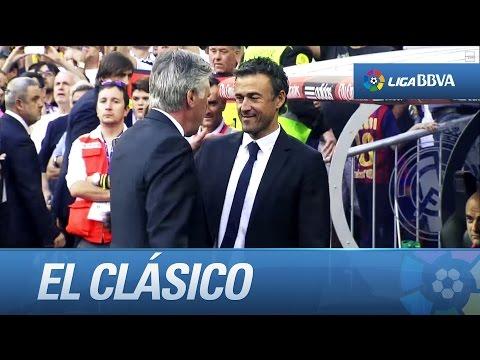 Noche mágica en el Bernabéu: Real Madrid (3-1) FC Barcelona - HD (видео)