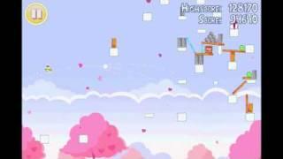 Angry Birds Seasons Hogs & Kisses 3 Star Walkthrough Level 15