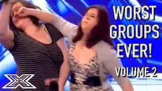 Video The WORST GROUP AUDITIONS On X Factor! Volume 2 | X Factor Global MP3, 3GP, MP4, WEBM, AVI, FLV Juni 2019