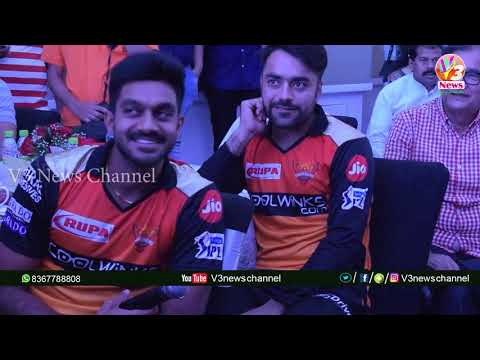 Car 2 Drive Meet&greet || Sunrisers Hyderabad ||v3 News Channel
