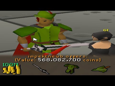 He BET Me 100m! (3a Longsword Pk Challenge) -  PROFIT Osrs Pking