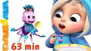 Download Lagu ☀️️ Little Miss Muffet | Nursery Rhymes Collection | Finger Family Songs from Dave and Ava ☀️️ Mp3