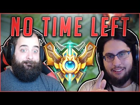NO TIME LEFT! RACE TO CHALLENGER HAS BEGUN FEATURING RANK #1 IMAQTPIE! League Of Legends Gameplay