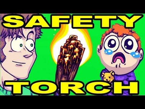 SAFETY TORCH!! - Official Animated Music Video (видео)