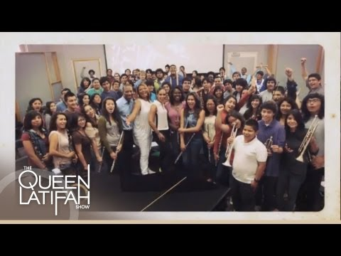 Music Class Makeover on The Queen Latifah Show