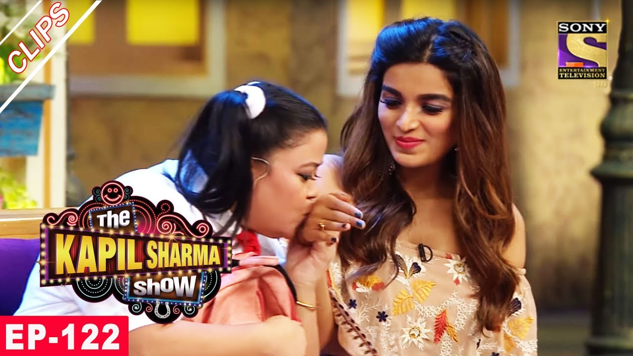 Lalli is Smitten by Nidhhi Agerwal – The Kapil Sharma Show – 16th July, 2017