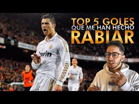 TOP 5 GOLES QUE MÁS RABIA ME HAN DADO