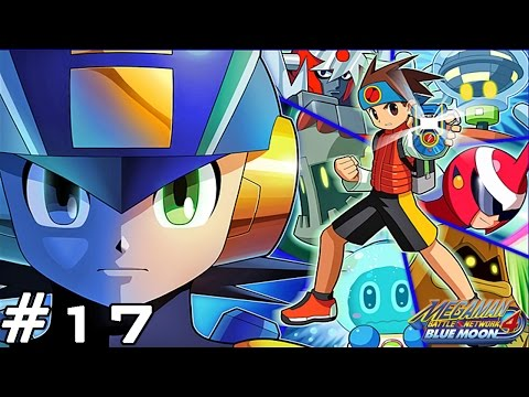 gba megaman battle network 4 - blue moon cool