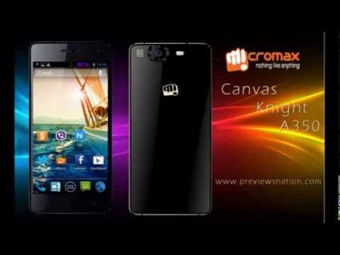 Micromax Canvas Knight A350 Octa Core Quick review and specifications.
