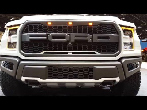 2017 Ford F-150 Raptor Exterior 2017 Chicago Auto Show