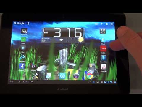 Ainol Novo 7 Venus Tablet Review Plus Using This Tablet as TV A Media Player