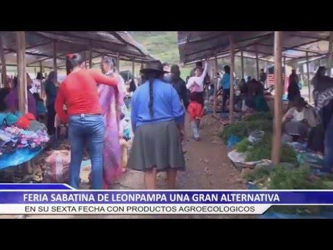 6TA FECHA DE LA FERIA SABATINA DE LEONPAMPA