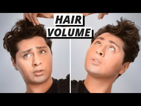 Mens hairstyles - How To Add Volume To Your Hair  Men's Hair Style QUICK