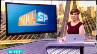 """Bom Dia SP - """" A Forma que encanta"""" 15/02/2017"""