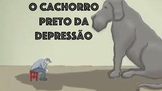 O cachorro preto da depressão