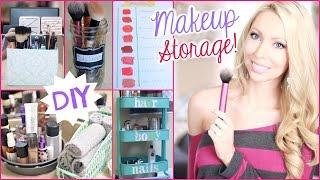 Makeup Organizer Buatan Sendiri Untuk Rapikan Meja Rias Anda