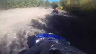 9. Yamaha Wolverine 450 4X4 Ride GoPro Hero 3