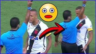 Veja Aqui no Bola Quadrada a Peitada de Luiz Fabiano, (isso é considerado agressão no arbitro) no jogo flamengo 2 e 2 vasco, esse fato levou na expulsão de ...