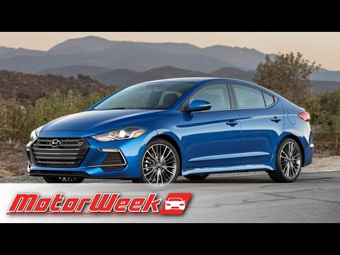 Quick Spin: 2017 Hyundai Elantra Sport - Performance Over Design (видео)