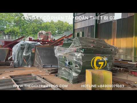 Trạm trộn bê tông chất lượng cao G7