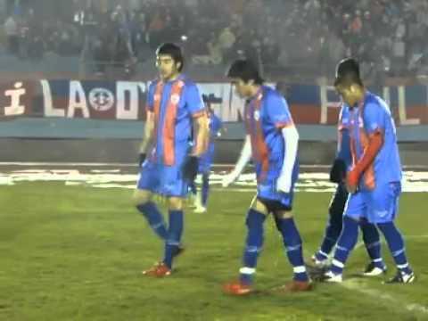 Salida Deportes Iberia vs Colchagua - Banda Azulgrana - Deportes Iberia