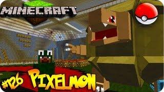 Pixelmon! Minecraft Pokemon Mod! Ep # 126 GIGANTIC GOLEM!
