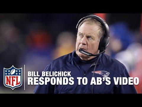 Video: Bill Belichick Responds to Antonio Brown's Facebook Video | NFL