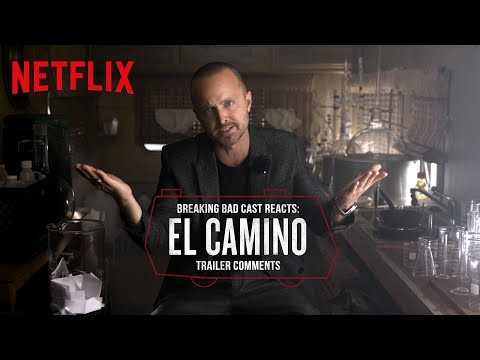 Breaking Bad Cast Reacts to El Camino Trailer Comments   Netflix