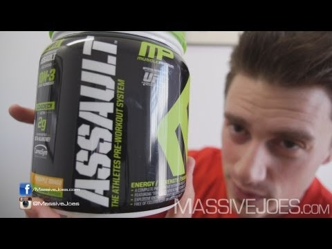 MusclePharm New Assault Pre-Workout Supplement Review – MassiveJoes.com RAW REVIEW Muscle Pharm