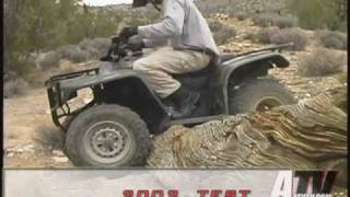 3. ATV Television - 2002 Honda Recon Test