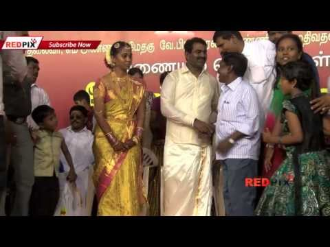 Director Seeman Wedding- Full Event Part 1 Of 2 - [ Red Pix]