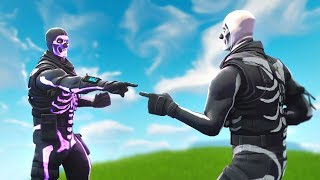 I called out new Skull Troopers for being FAKE... (new default skin)
