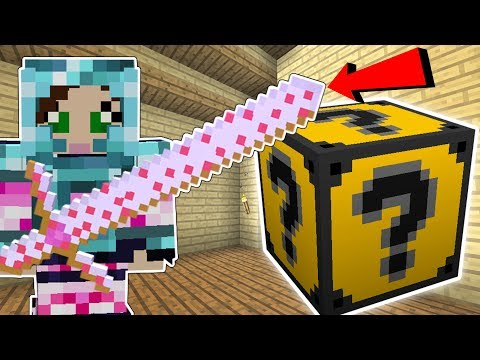 Minecraft: JEN'S FAVORITE LUCKY BLOCK!! (PINK WEAPONS, SPOOKAY CRAFTING, & MORE!) Mod Showcase (видео)