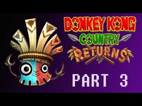 preview-Donkey Kong Country Returns (Wii) Part 3 (Kwings)