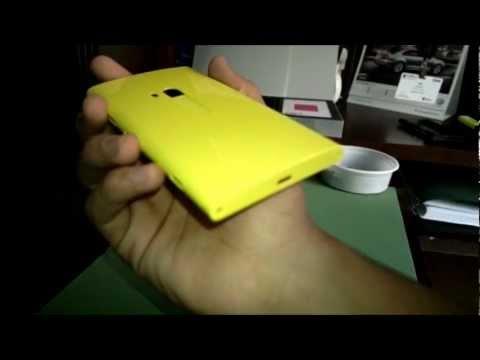 Lumia 920 PolyCarbonate Body Scratch Test