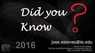 Did You Know 2016