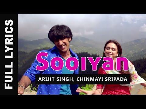 Sooiyan Song Lyrics - Arijit Singh | Guddu Rangeela (2015) Hindi Movie